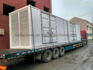 1250kVA/1000kw 40FT containerisiertes Kraftwerk des Generator-40hq mit Cummins