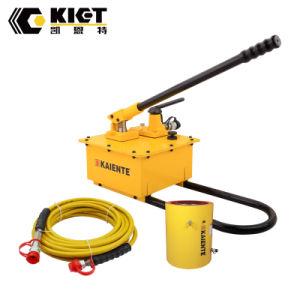 Pompa a mano idraulica di prezzi del distributore di marca di Kiet per le chiavi di coppia di torsione