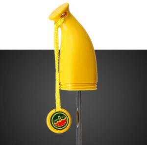 OEMのロゴの創造的な広告の昇進の携帯用折るバナナの傘