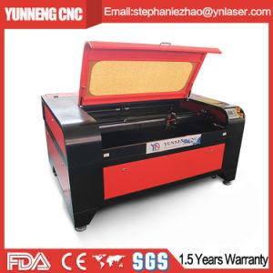 CNC del laser di fabbricazione della Cina per il plexiglass/acrilico/gomma/cuoio/panno