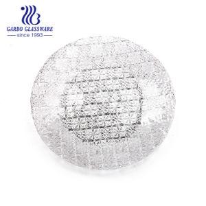 Electroplate 13pouces haut de gamme servant de la plaque de verre pour la vaisselle2358FXW (GO)