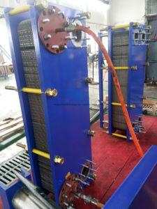 使用の板形熱交換器処理するミルクおよび飲料