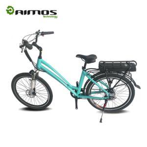 Bicicleta elétrica Ce de 48V, Ebike verde da cidade verde, En15194 Bicicleta elétrica