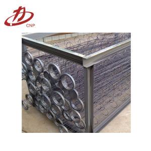 Filtro de Mangas de acero inoxidable Industrial Bastidor de soporte de la jaula