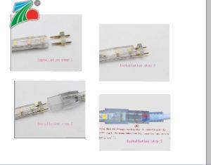 Ce 10mm indicatore luminoso giallo di uso dell'interno ed esterno dell'indicatore luminoso di striscia di 5050 SMD