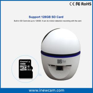1080P hogar inteligente de seguimiento automático de 360 grados de la cámara Vigilabebés inalámbrico