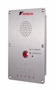 Телефон с усилителем элеватора Knzd-09 для использования вне помещений IP65 для общественности