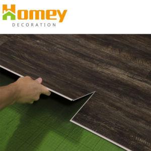 4mm WPC Cliquez sur le matériel en PVC Vinyl Spc Plank Flooring Tile