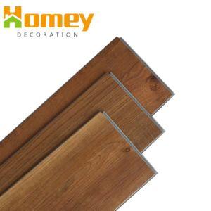Hot Sale Grain du bois en matériau plastique Spc planchers de vinyle