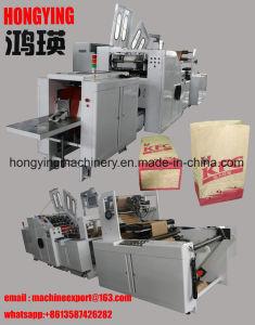 Marca de alta Effiencey Hongying Saco de papel alimentar máquina de fazer, Máquinas de fabrico de sacos de papel