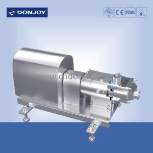 Pompe à double vis de grade alimentaire solide mélange gaz-liquide