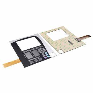 Interrupteurs à membrane de haute qualité personnalisés avec les touches de gaufrage et de la texture