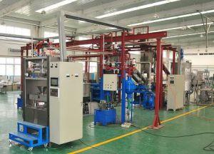 A linha de produção da cápsula de resina automática