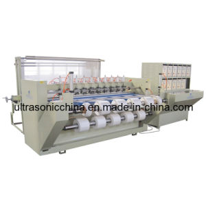 Slitting ultrasonique Machine pour Polyester Fabric (CE)
