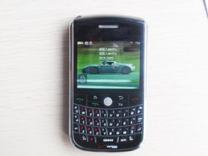 Black Borry Smart Phone (E9630)