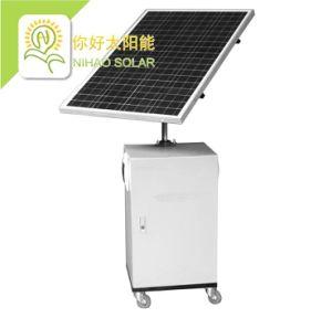 1000W système d'énergie solaire PV générateur hors réseau mobiles (avec panneau de commande)