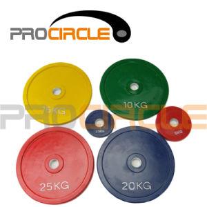 Crossfit 표준 올림픽 고무 풍부한 격판덮개 (PC-BP1034-1044)