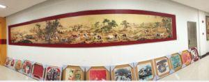 Kitchen、Fwall Muralのための陶磁器のTile Mural/Backsplash。 Wall Decorのための高いGlass Picture