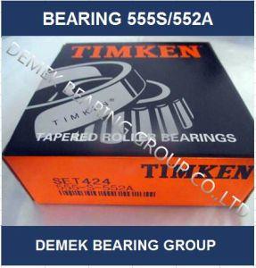 Hot vendre Timken roulement à rouleaux coniques pouces 555s/552d'un ensemble424