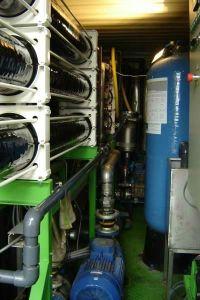 Estações de Tratamento de Água em contentores transportáveis, Instalação de Configuração Completa