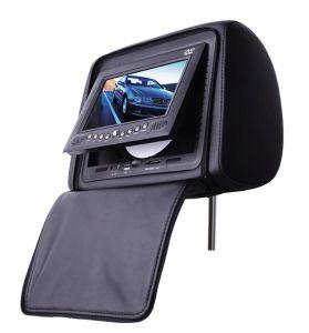 7inch 머리 받침 FM/IR/USB /SD/게임 또는 Handle+Zipper (CM-888C)를 가진 한세트 차 DVD 플레이어--검정