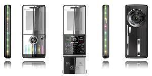 De dubbele Dubbele Reserve Mobiele Telefoons van de Muziek SIM met Fm/MP3/MP4/Camera/Bluethooth (F19)