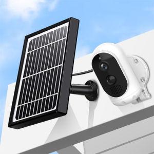 Batería recargable de panel solar de audio bidireccional Motion Dection Cámara IP WiFi