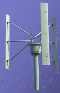 Eixo Vertical turbinas de vento (FDC-3KW-H)