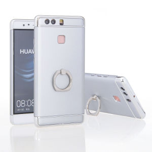 Huawei P9를 위한 이동 전화 덮개를 도금하는 1개 단단한 PC 반지 홀더에 대하여 3