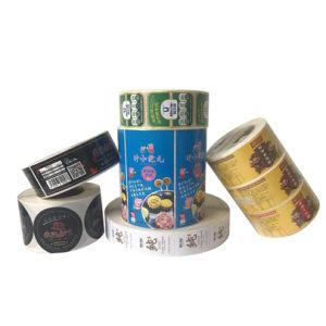 Impresión directa de fábrica de etiquetas roll sticker Offset