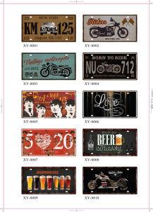 Ebay熱い販売法の錫の印の芸術
