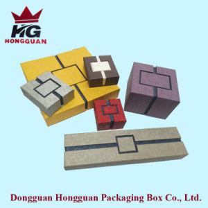Abrir duas vezes e papel colorido Caixa de oferta& Caixa de jóias
