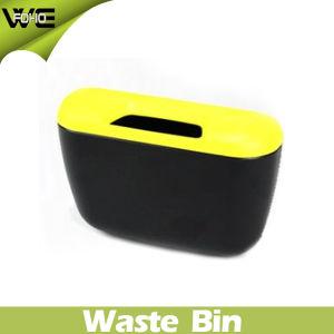 Papelera pequeño recipiente de residuos de plástico del coche Bin (FH-AB001)