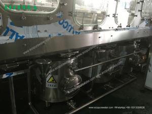 A linha de enchimento do reservatório de 5 galão / fábrica de engarrafamento de água 1200bph