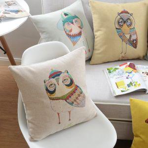 Yrfの専門のホテル供給によって印刷される正方形旅行枕装飾的な枕