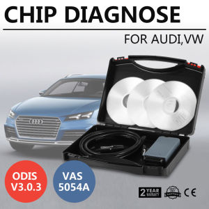 VW를 위한 Bluetooth 진단 기구 스캐너 OBD2 VAS 5054A Oki Fullchip Odis V3.0.3