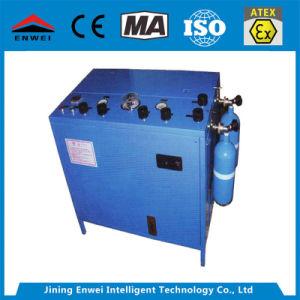 Ae102una mascarilla de respiración de oxígeno líquido de la bomba de llenado