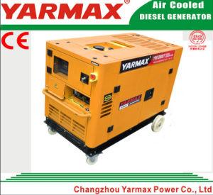 тип охлаженный воздух передвижного тепловозного генератора 5kVA Ym9000t Ym190 молчком