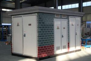 금속 쉘을%s 가진 상자 변압기 변전소의 유럽식 미리 설치된 유형 변전소
