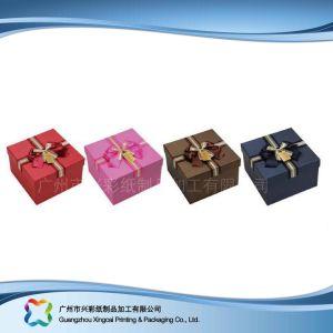 Envases de Papel Regalo de lujo/Chocolate/Cosmética caja con cinta de opciones (XC-hbg-008)