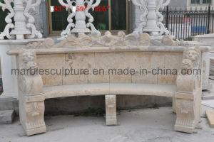 大理石のベンチの石のベンチの庭のベンチMB-020