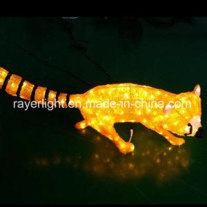 クリスマス3Dの祝祭のための動物のモチーフLEDライト
