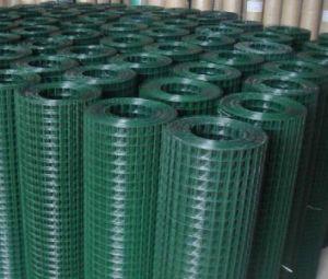 3/4インチの安い価格のPVCによって塗られる溶接された金網