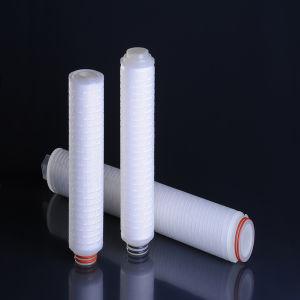 Patroon van de Filter PTFE 0.45um van de Daling van de lage Druk Hydrophobic voor Water