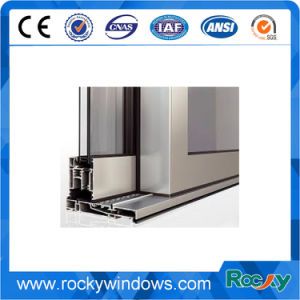 Ventana corrediza aluminio ventana interior de la ventana del bastidor de perfiles de aluminio