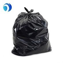 La estrella negra de plástico HDPE PE junta plana la parte inferior degradables Compostable Environment-Friendly Mall en el hogar de la cocina del Hospital de basura perfumada bolsas de basura en el rollo