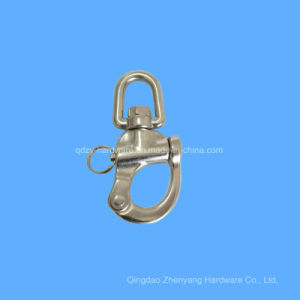 Anello di trazione dello schiocco della parte girevole della mascella dell'acciaio inossidabile