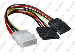 ATX 4pin 힘 SATA 케이블에 2 X SATA15pin