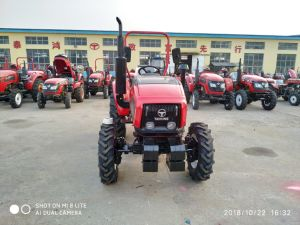 4 바퀴 50HP Taihong 판매를 위한 소형 농업 농장 트랙터
