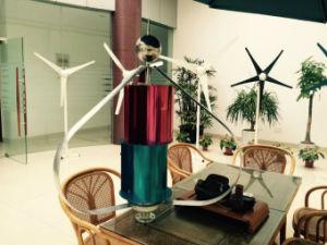 12V с низкой частотой вращения Q1 типа небольшие вертикальные ветровой турбины для дома